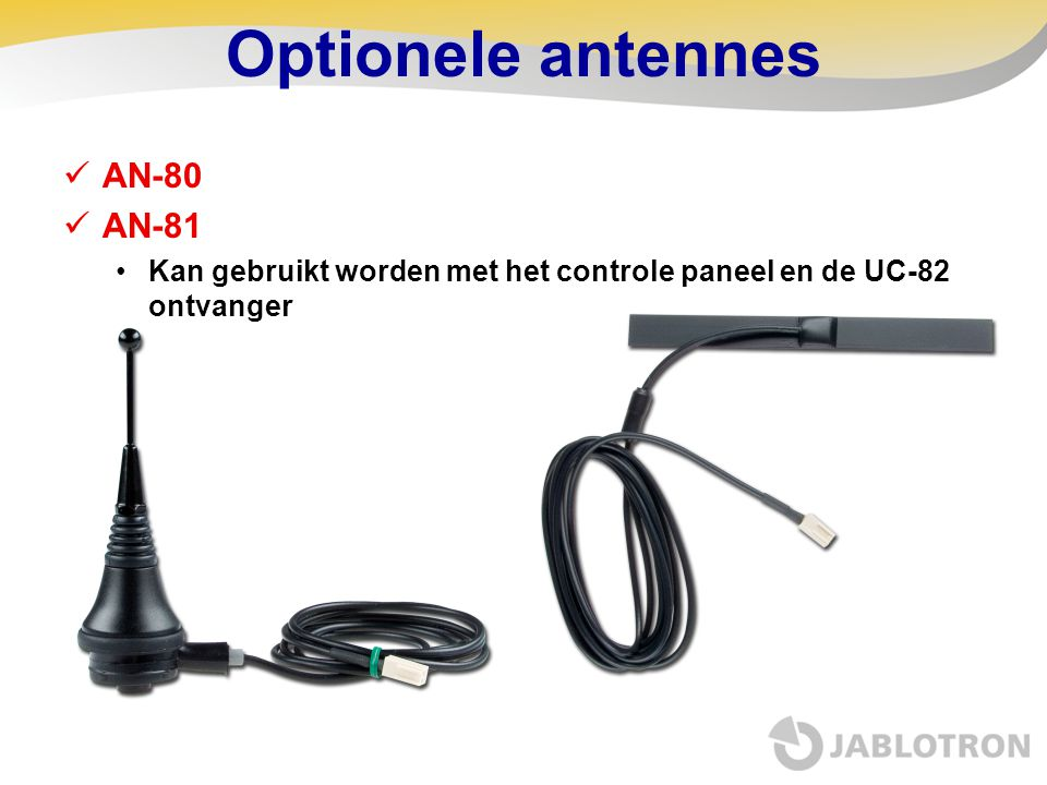 Optionele antennes AN-80 AN-81