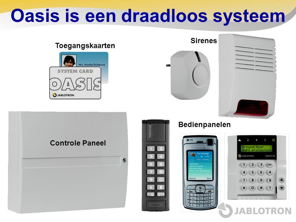 Oasis is een draadloos systeem