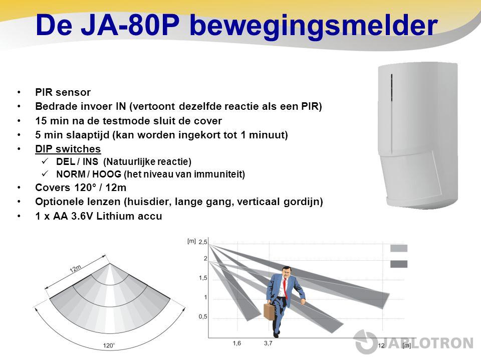 De JA-80P bewegingsmelder