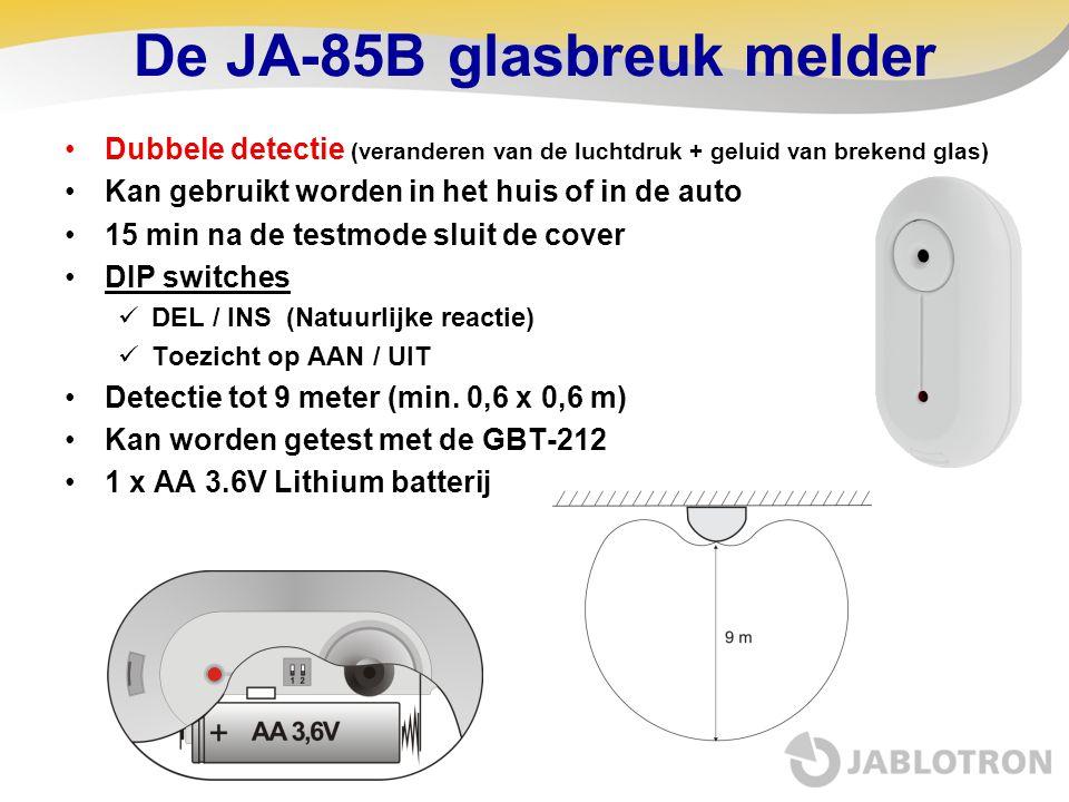 De JA-85B glasbreuk melder