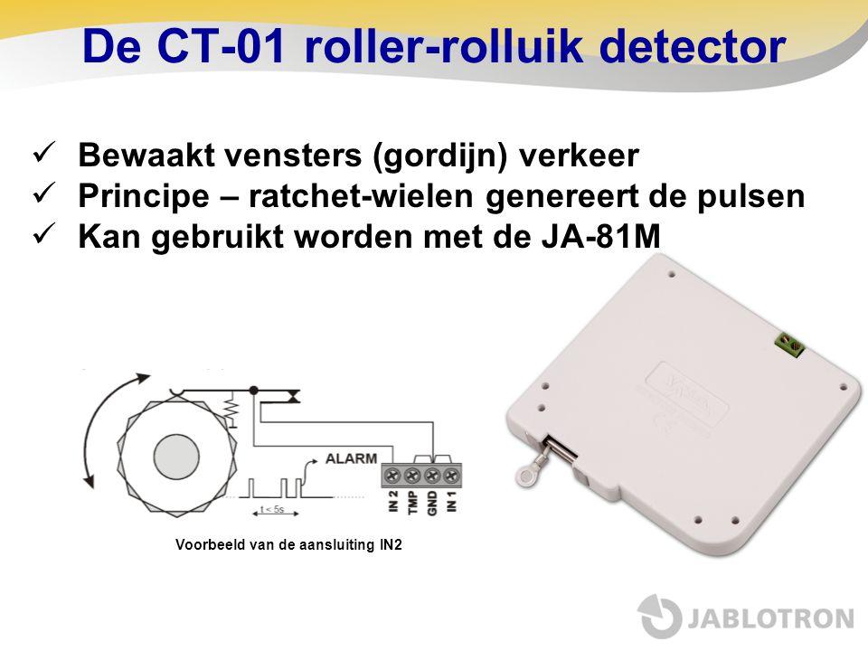 De CT-01 roller-rolluik detector
