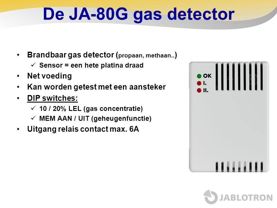 De JA-80G gas detector Brandbaar gas detector (propaan, methaan..)