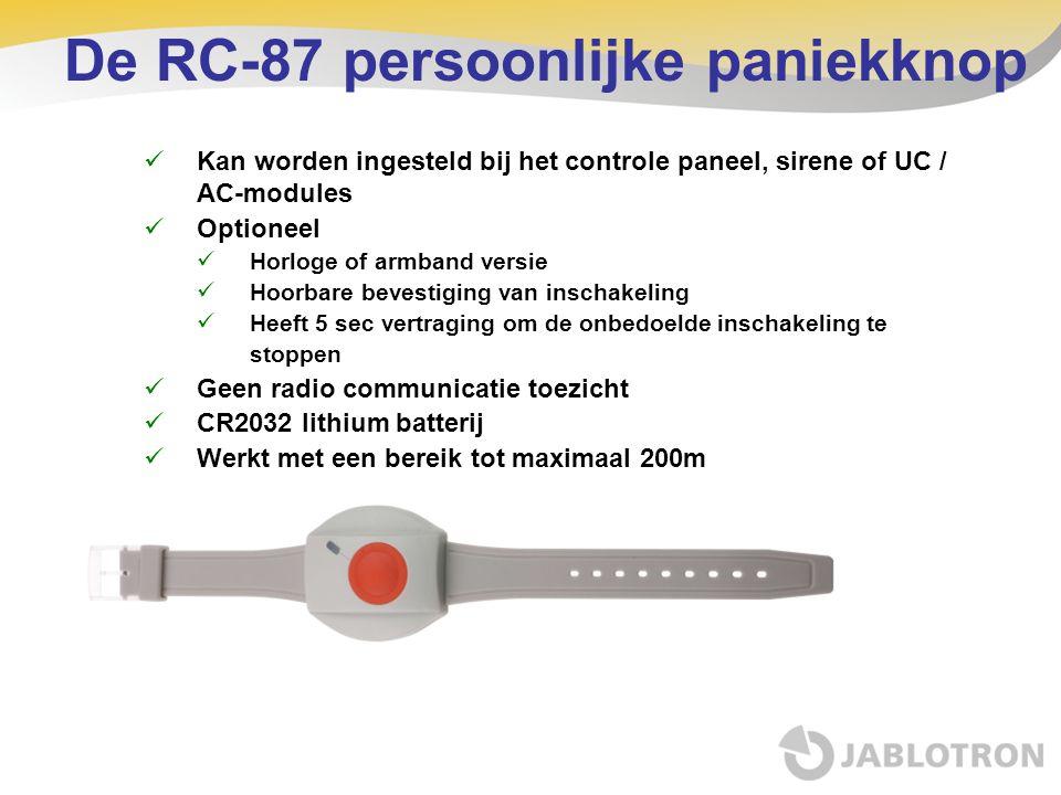 De RC-87 persoonlijke paniekknop