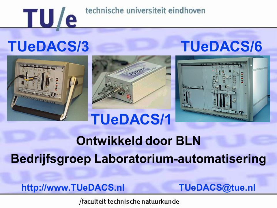 Ontwikkeld door BLN Bedrijfsgroep Laboratorium-automatisering