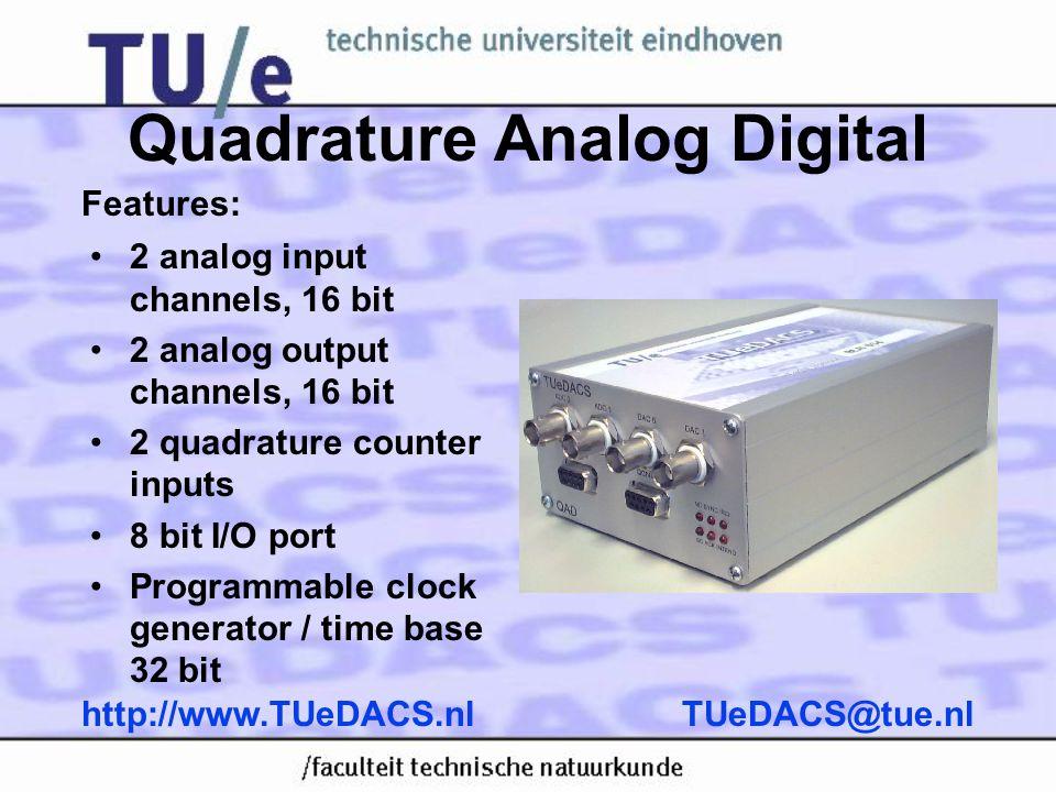 Quadrature Analog Digital