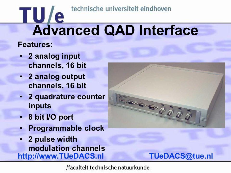Advanced QAD Interface