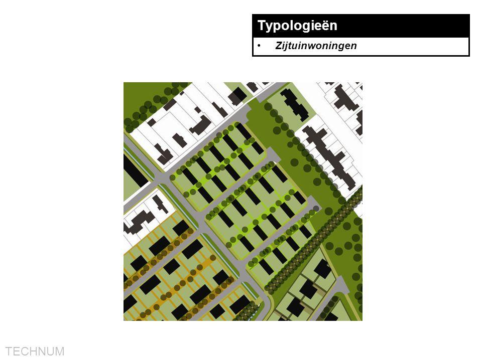 Typologieën Zijtuinwoningen