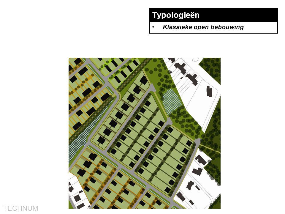 Typologieën Klassieke open bebouwing