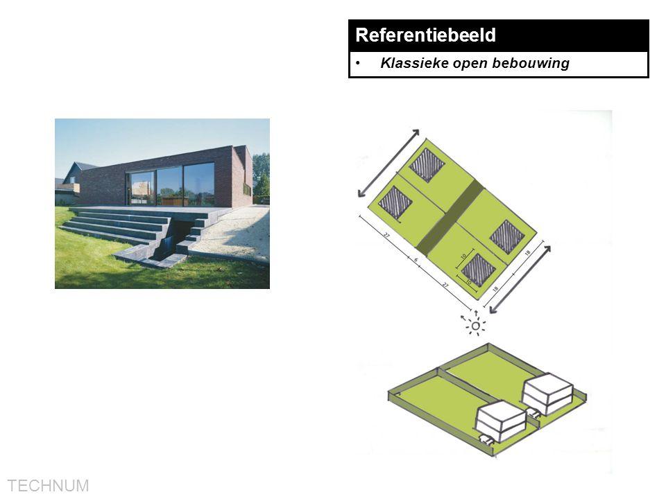 Referentiebeeld Klassieke open bebouwing
