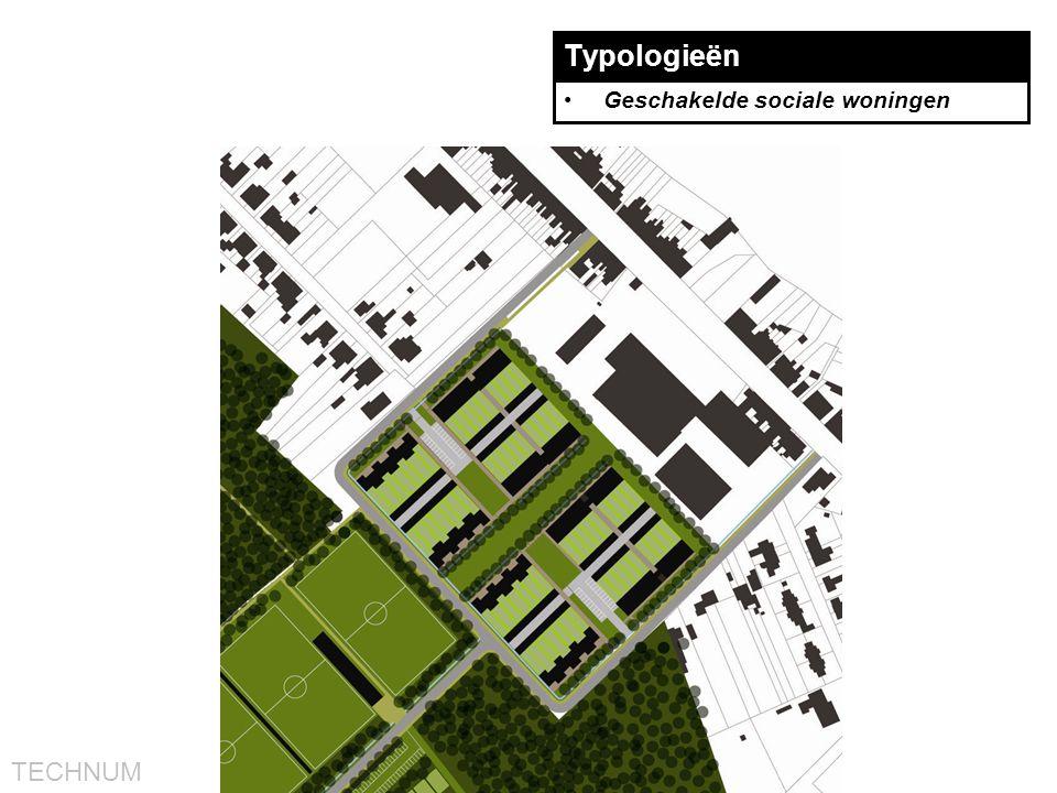 Typologieën Geschakelde sociale woningen