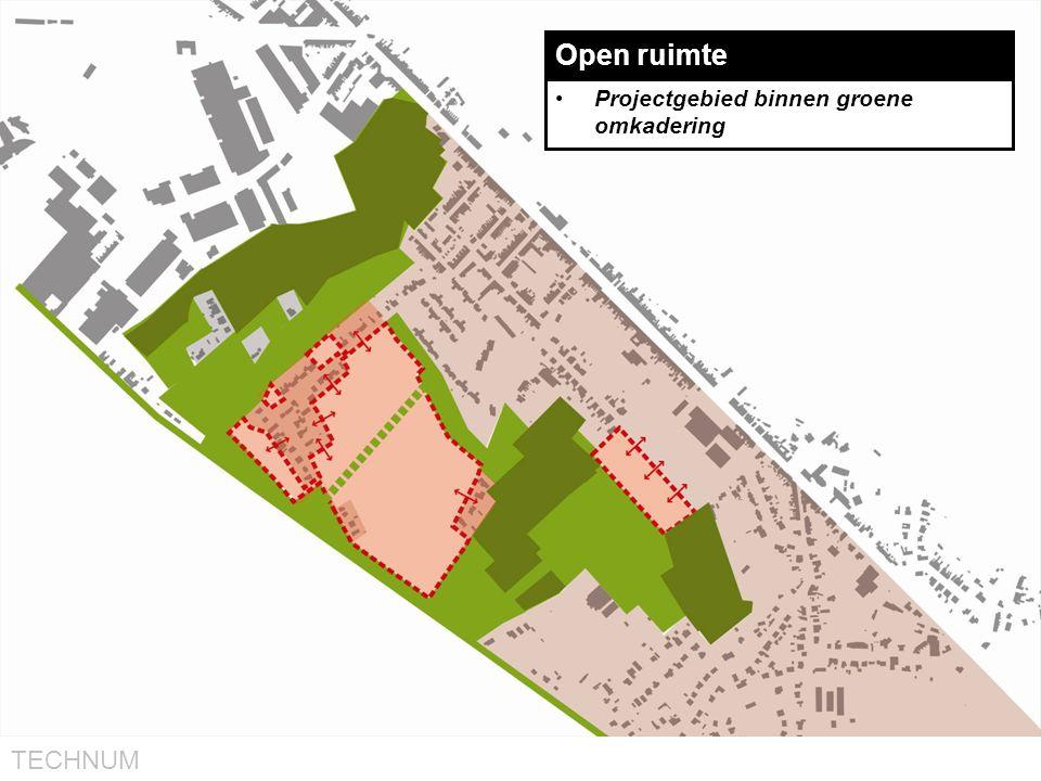 Open ruimte Projectgebied binnen groene omkadering