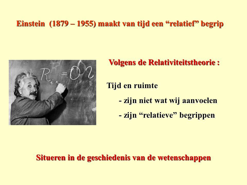 Situeren in de geschiedenis van de wetenschappen