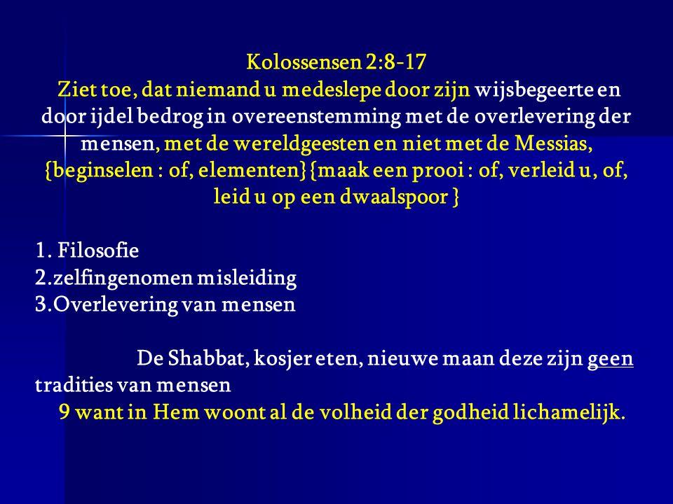 9 want in Hem woont al de volheid der godheid lichamelijk.