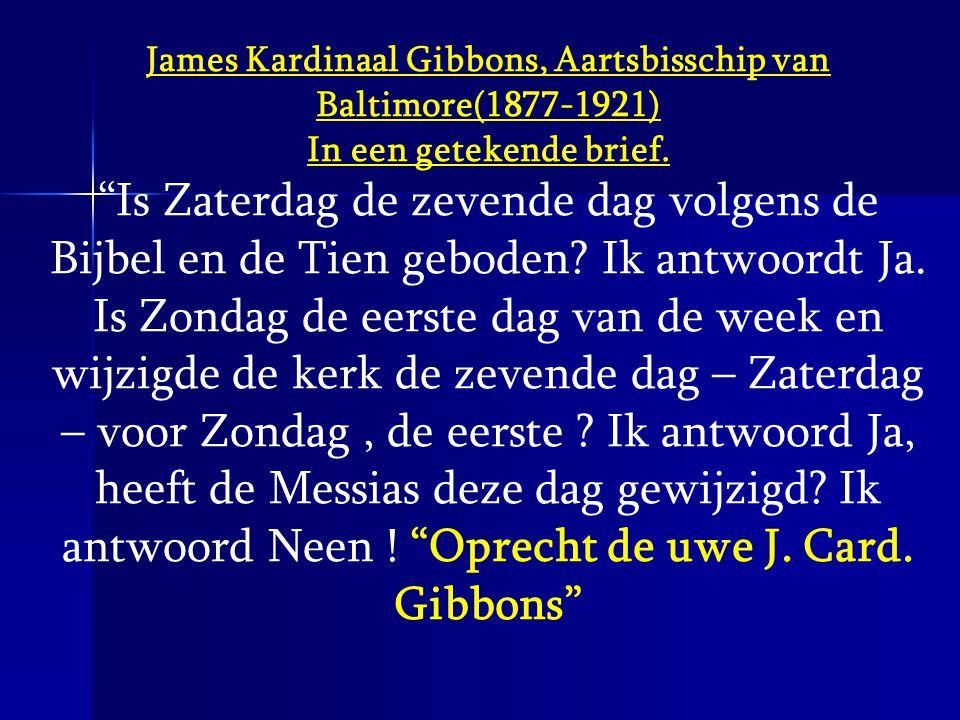James Kardinaal Gibbons, Aartsbisschip van Baltimore(1877-1921)