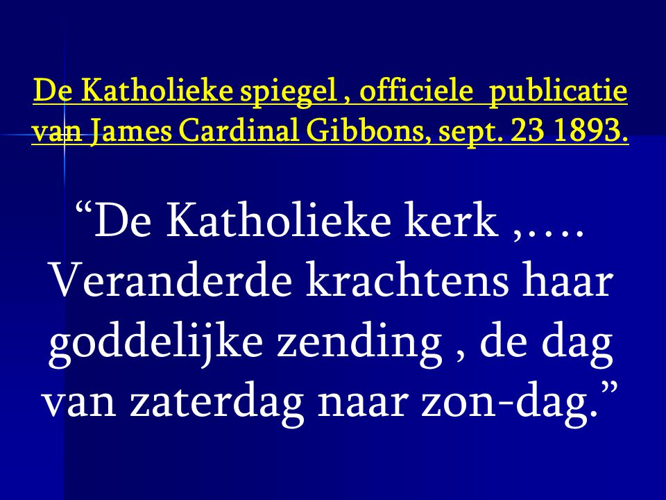 De Katholieke spiegel , officiele publicatie van James Cardinal Gibbons, sept. 23 1893.