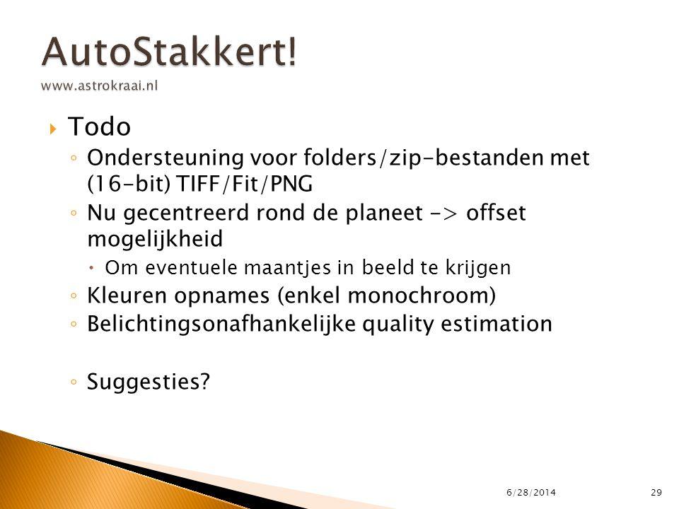 AutoStakkert! www.astrokraai.nl