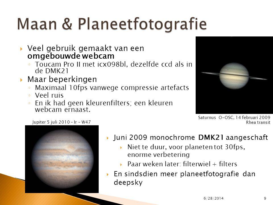 Maan & Planeetfotografie