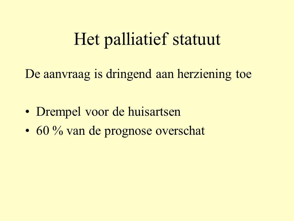 Het palliatief statuut