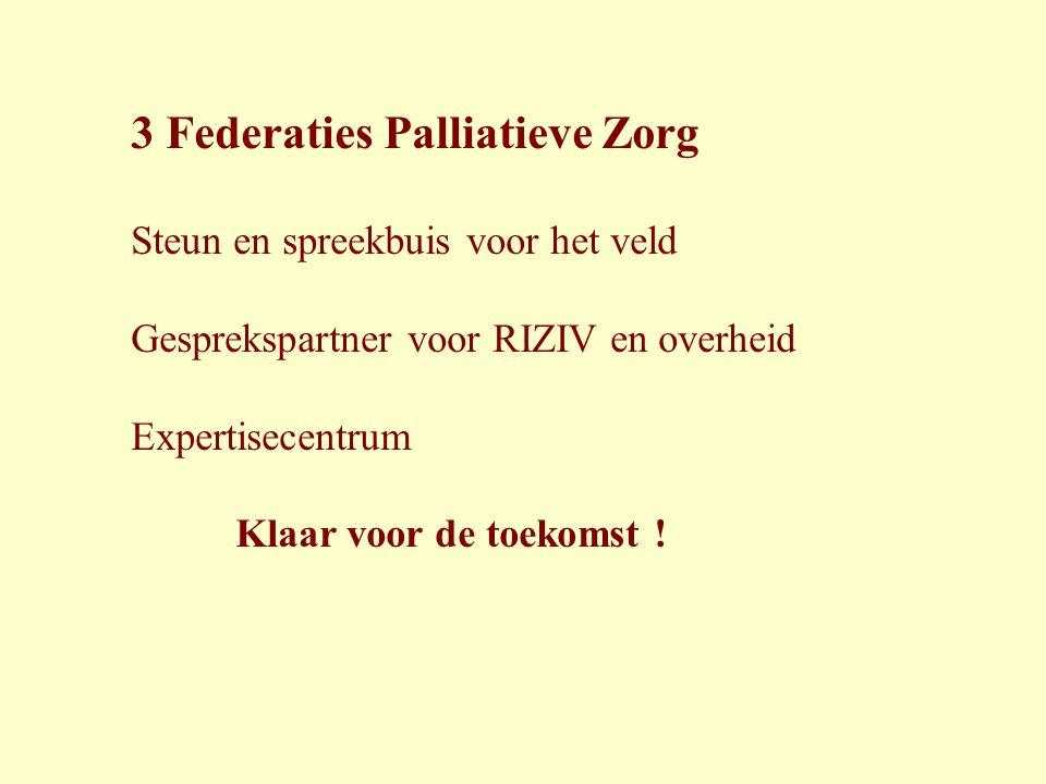 3 Federaties Palliatieve Zorg