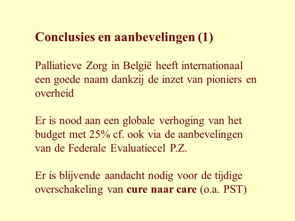 Conclusies en aanbevelingen (1)