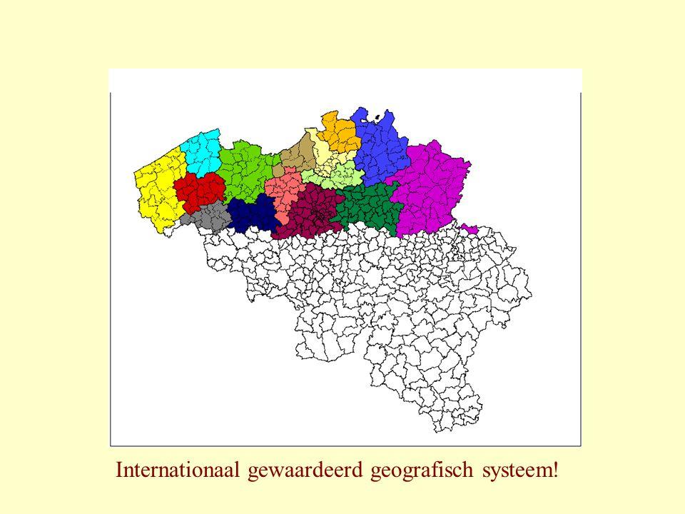 Internationaal gewaardeerd geografisch systeem!