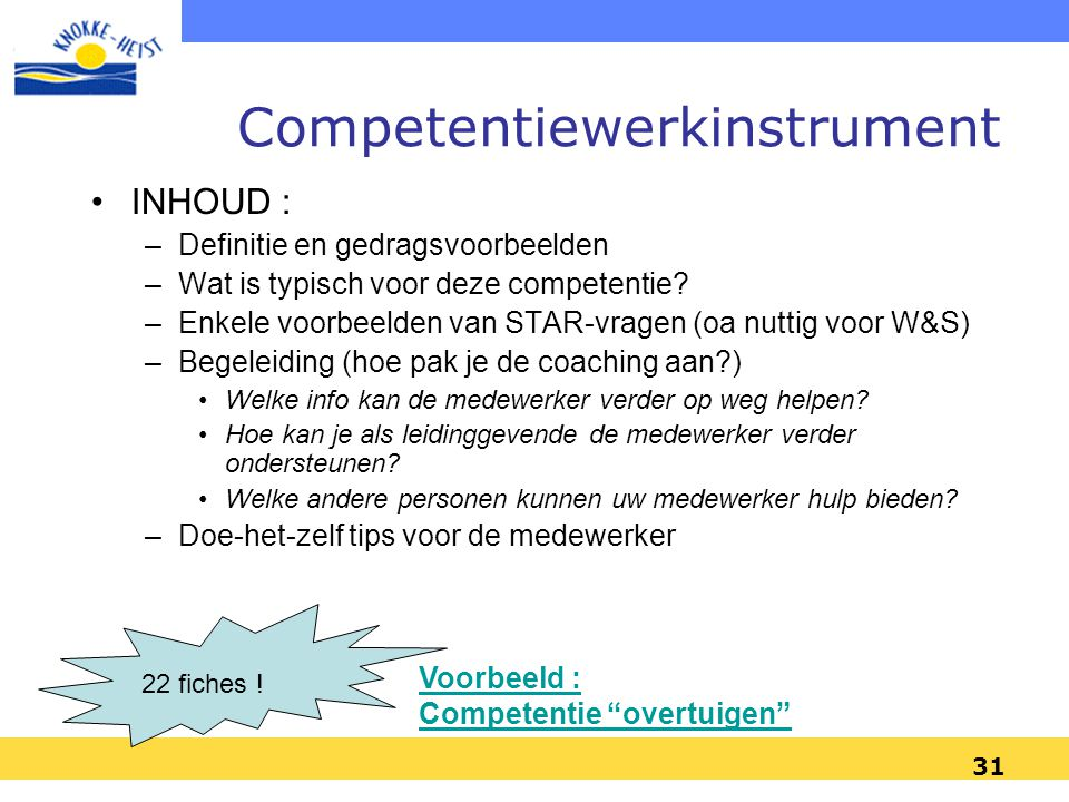 Competentiewerkinstrument