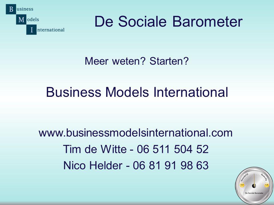 Meer weten Starten Business Models International