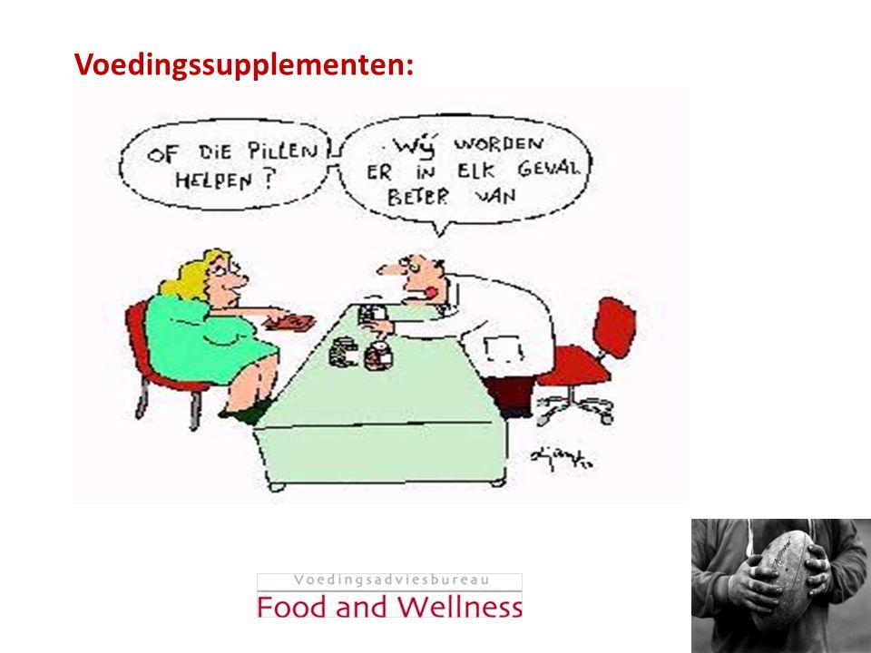Voedingssupplementen: