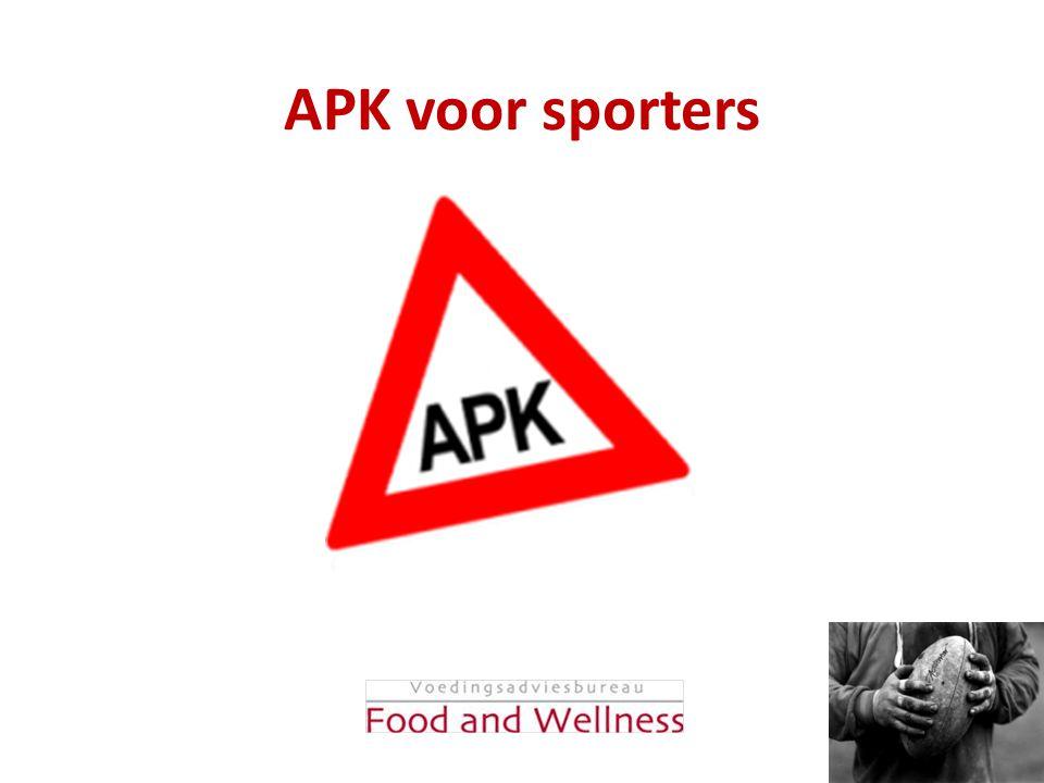 APK voor sporters