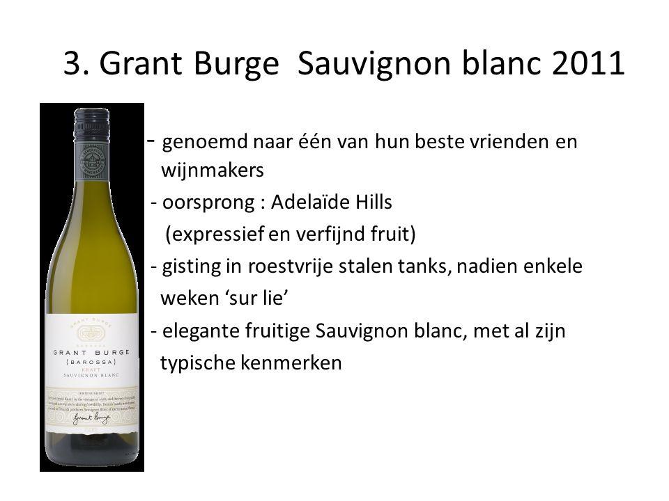 3. Grant Burge Sauvignon blanc 2011