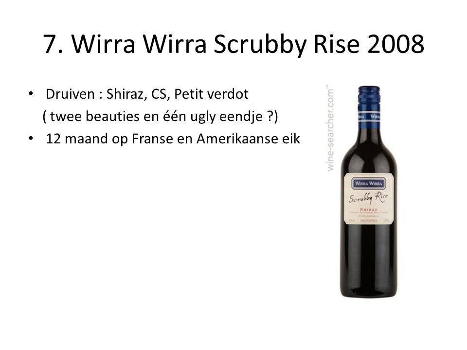 7. Wirra Wirra Scrubby Rise 2008