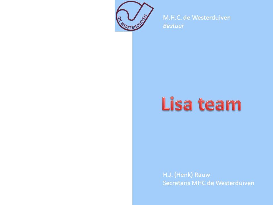 Lisa team M.H.C. de Westerduiven Bestuur