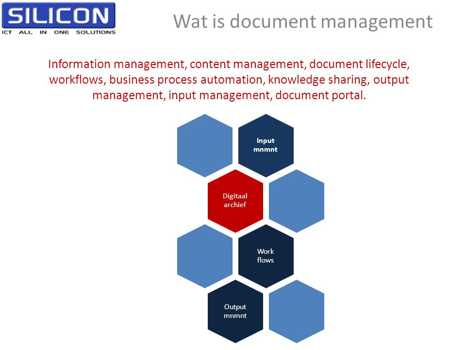 Wat is document management