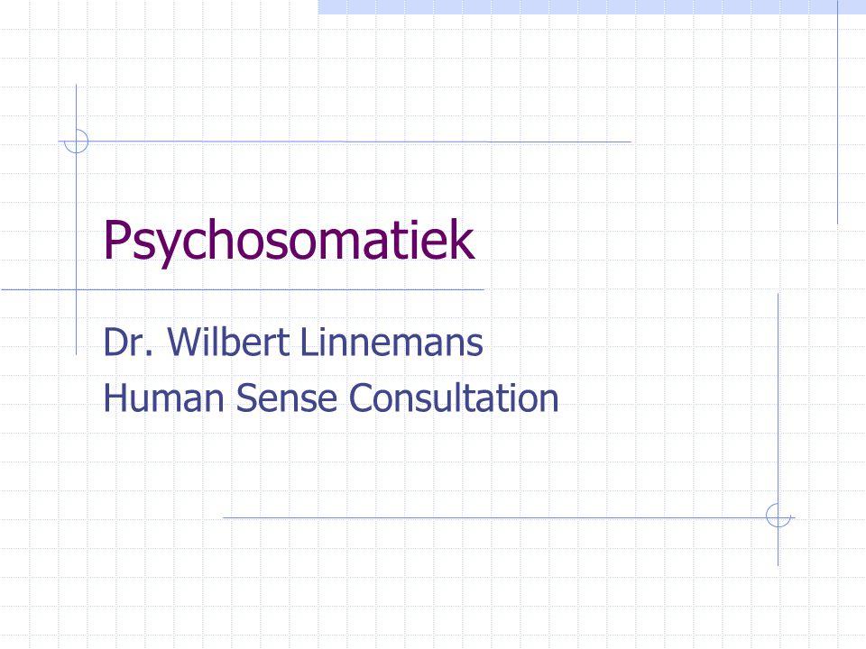 Dr. Wilbert Linnemans Human Sense Consultation