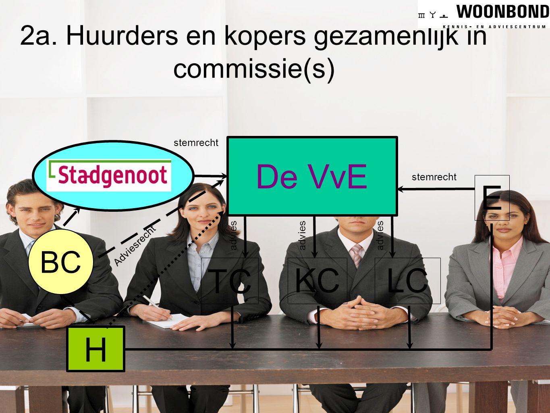 2a. Huurders en kopers gezamenlijk in commissie(s)