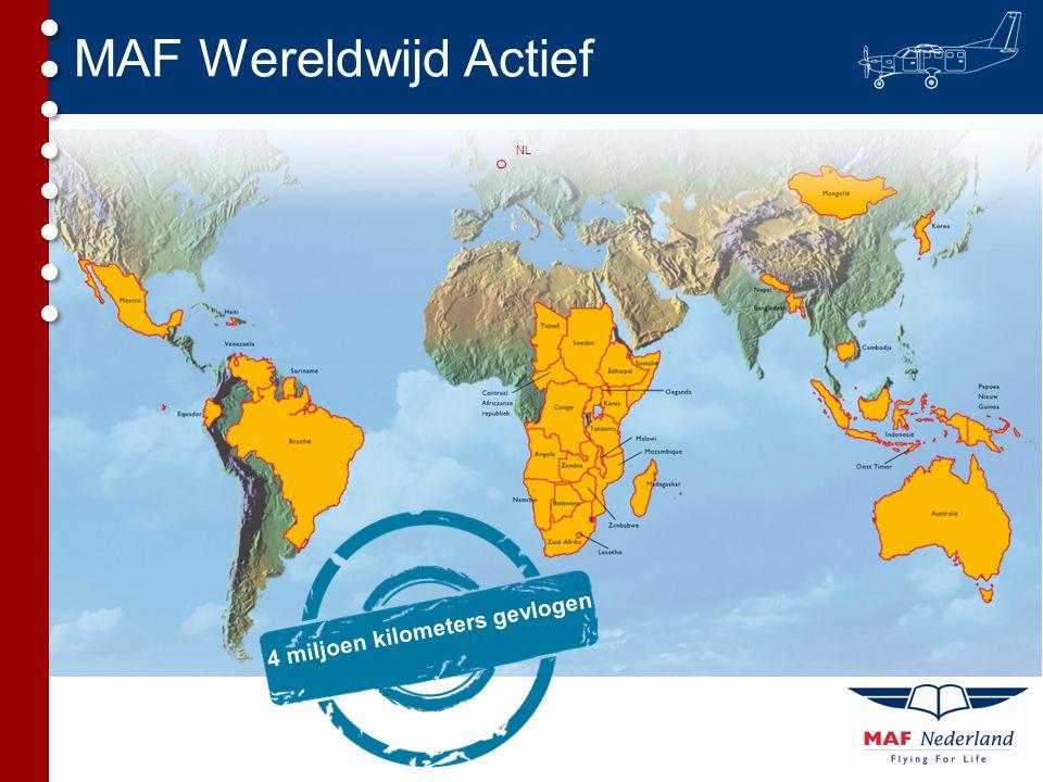 MAF Wereldwijd Actief NL 4 miljoen kilometers gevlogen