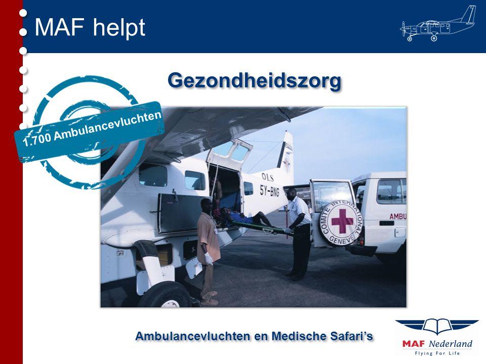 Ambulancevluchten en Medische Safari's
