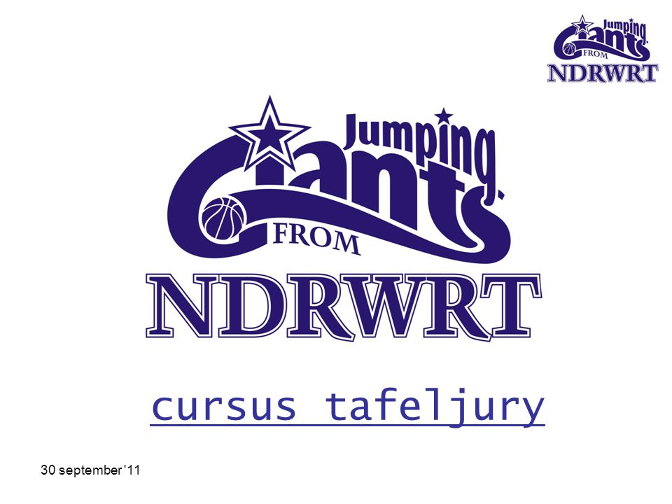 cursus tafeljury 30 september 11