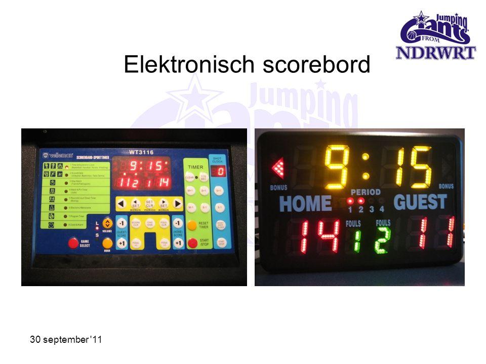 Elektronisch scorebord