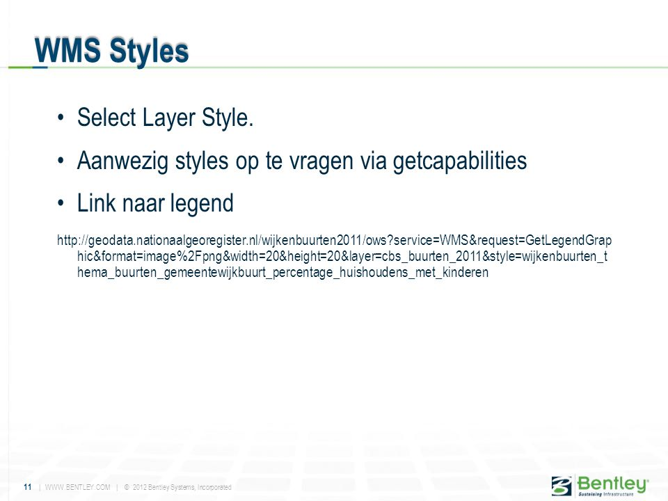 WMS Styles Select Layer Style.
