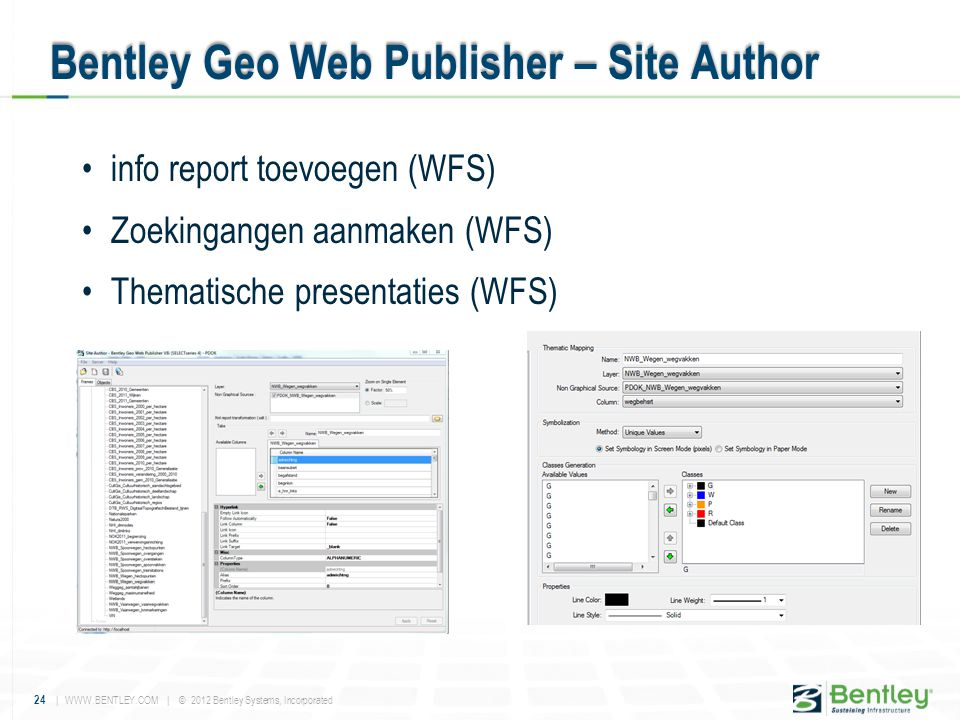 Bentley Geo Web Publisher – Site Author