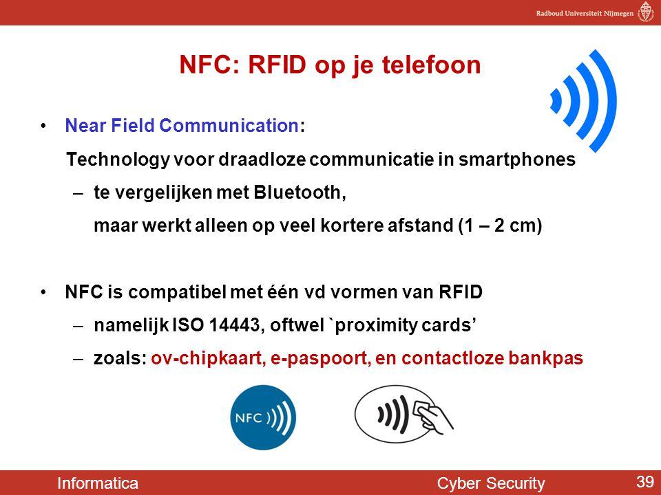 NFC: RFID op je telefoon