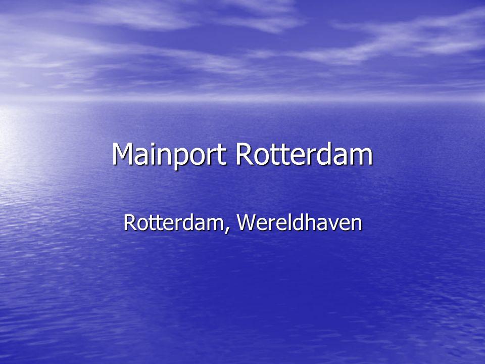 Rotterdam, Wereldhaven