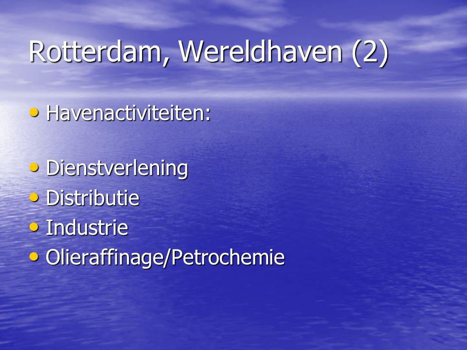 Rotterdam, Wereldhaven (2)