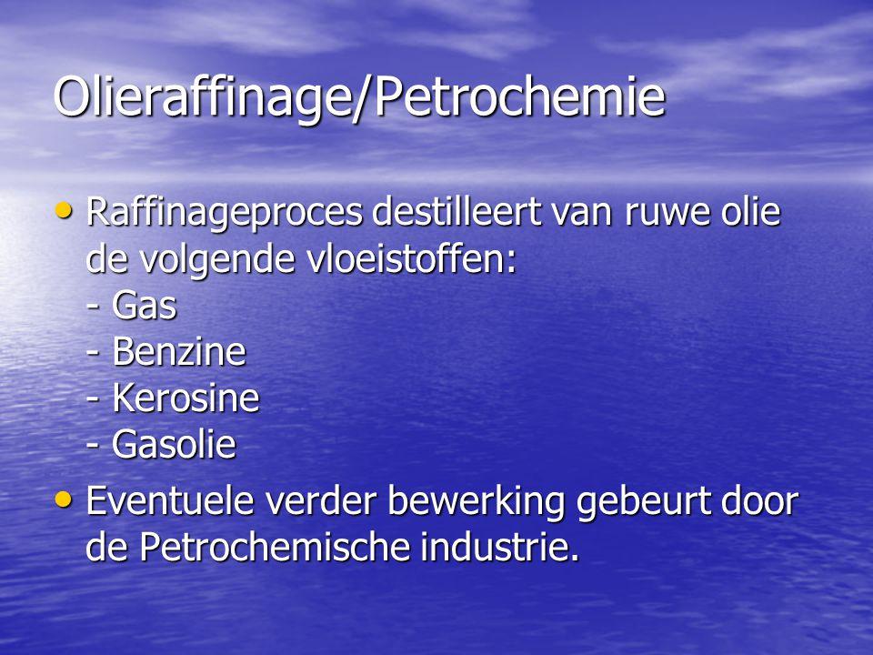 Olieraffinage/Petrochemie