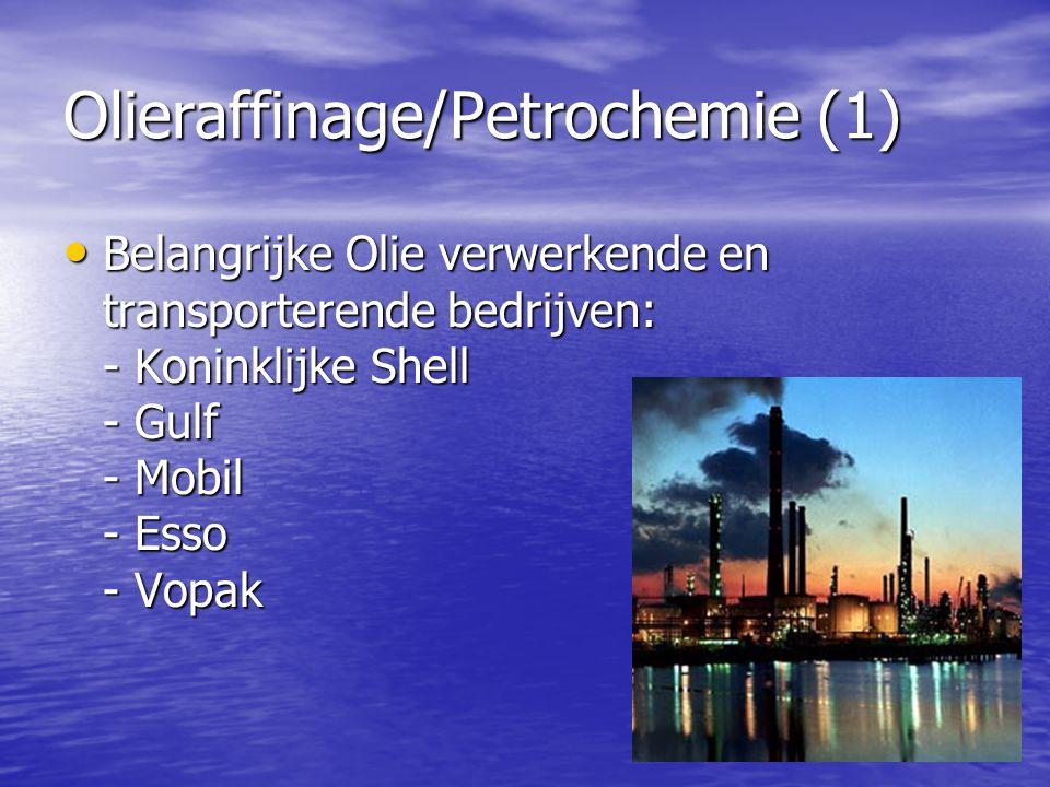 Olieraffinage/Petrochemie (1)