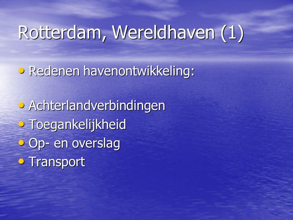 Rotterdam, Wereldhaven (1)