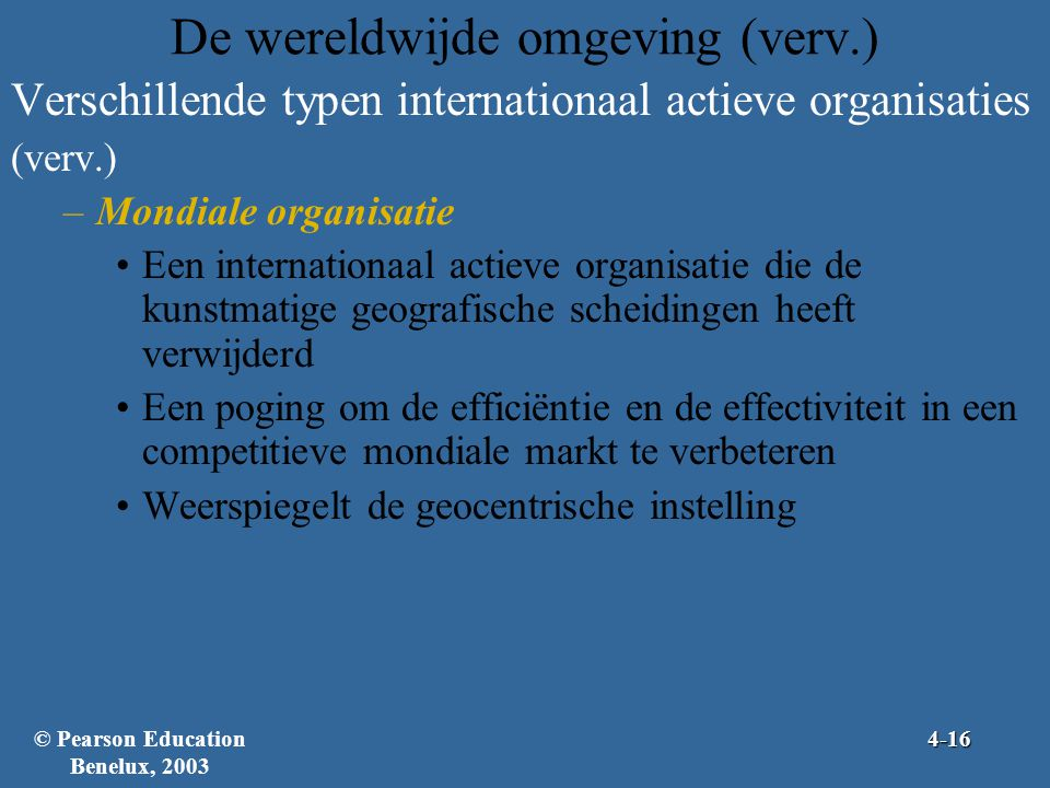 Pearson education benelux ppt video online download - Hoe de studio te verbeteren ...