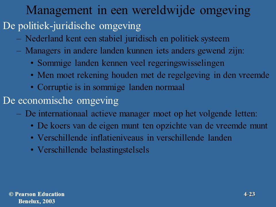 Management in een wereldwijde omgeving