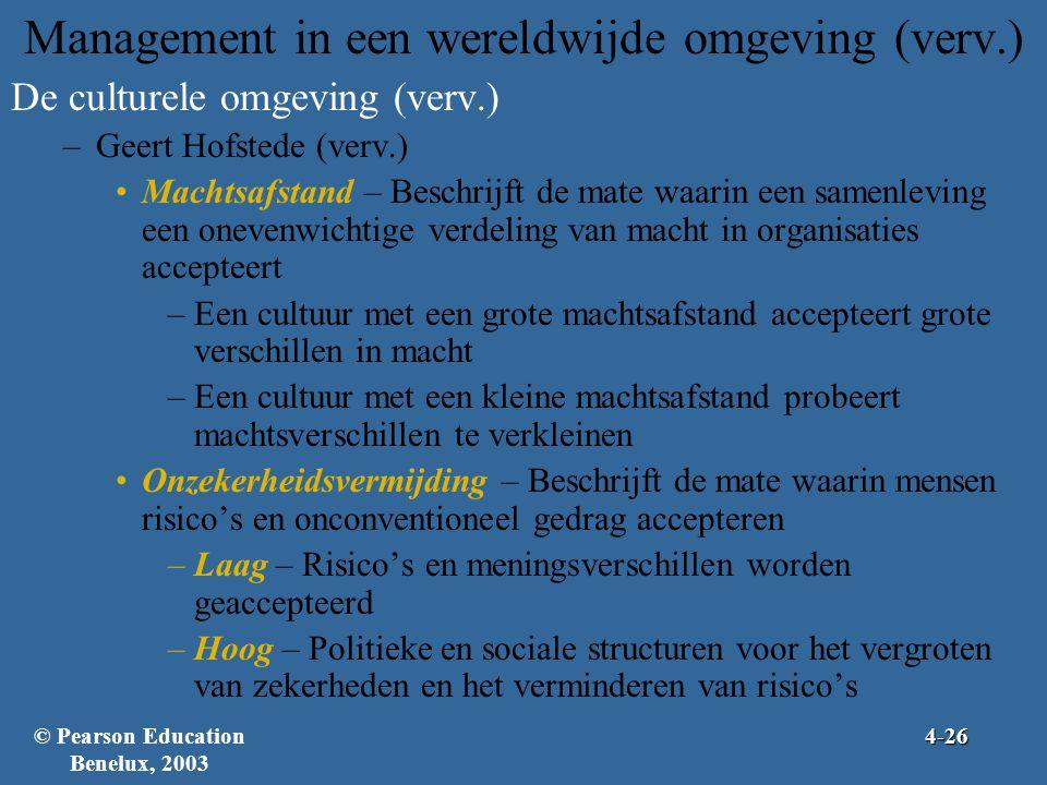 Management in een wereldwijde omgeving (verv.)